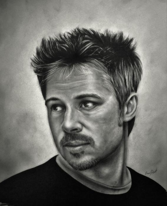 Brad Pitt by ercansebat